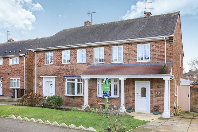 Thumbnail Semi-detached house for sale in Elmdon Close, Wolverhampton