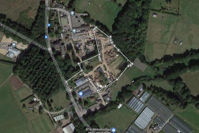 Thumbnail Land for sale in Mc Carthys Oak Farm, The Oaks, Winchester Road, Fareham