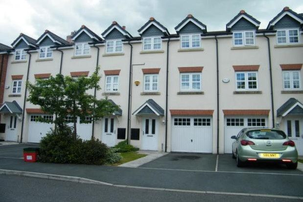 Thumbnail Town house to rent in Stonecroft, Northwich