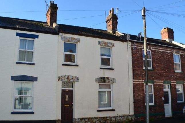 Thumbnail Terraced house to rent in Cecil Road, St. Thomas, Exeter