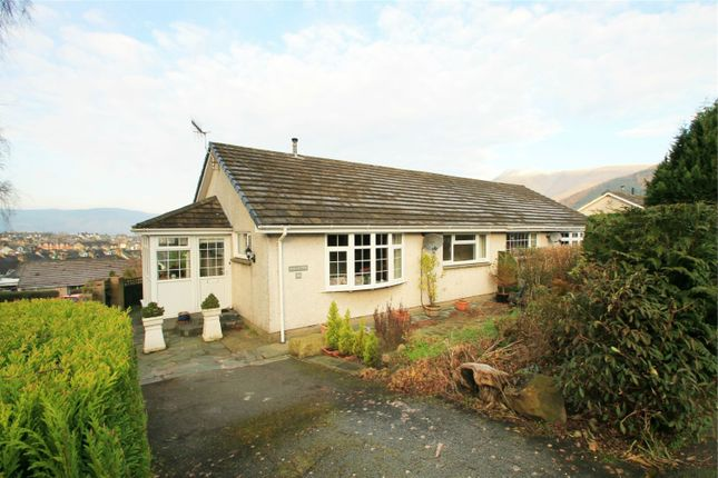 Thumbnail Semi-detached bungalow for sale in 26 Brandlehow Crescent, Keswick, Cumbria
