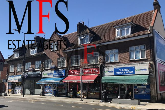 Thumbnail Flat to rent in Greenford Road, Harrow