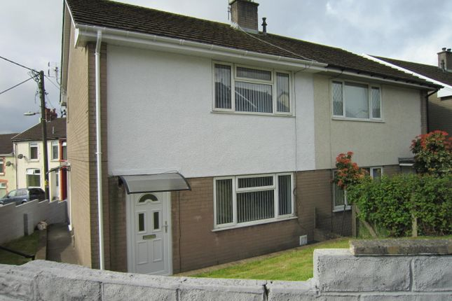 Thumbnail End terrace house for sale in Bedwellty Road, Aberbargoed