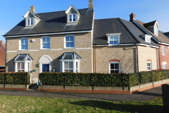 Thumbnail End terrace house for sale in Valerian Way, Stotfold, Hitchin