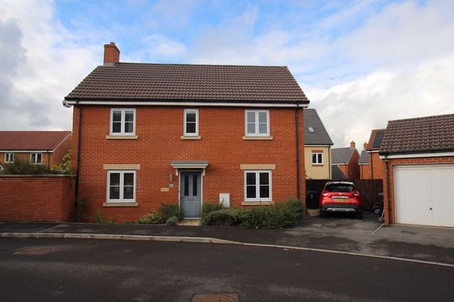 Thumbnail Detached house for sale in Bechstein Meadows, Castle Mead, Trowbridge, Wiltshire