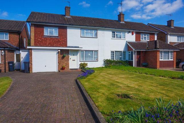 Thumbnail Semi-detached house for sale in Falconwood Road, Selsdon, Croydon