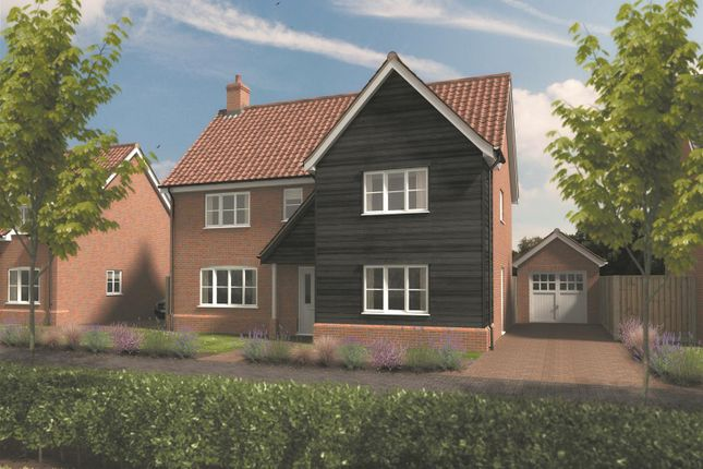 Thumbnail Detached house for sale in Yarmouth Road, Broome, Bungay