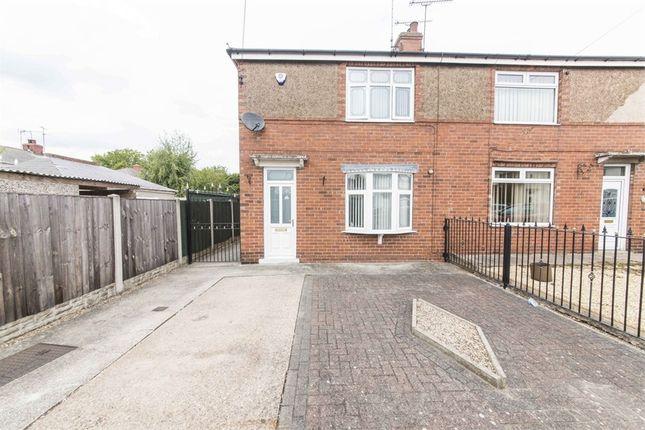 Thumbnail Semi-detached house for sale in Kilton Crescent, Worksop, Nottinghamshire