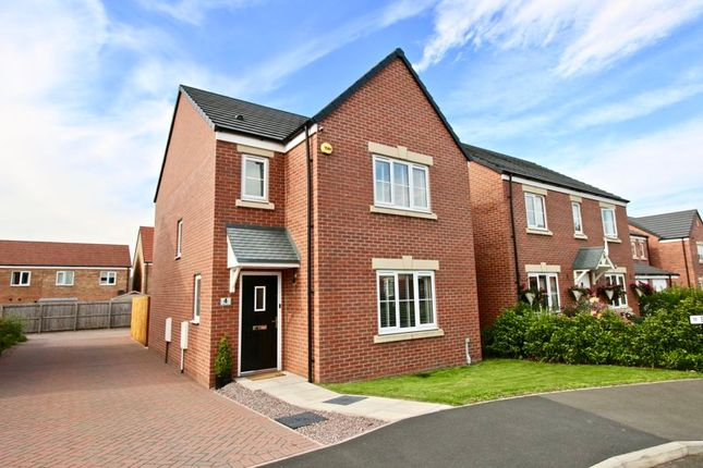 Thumbnail Detached house for sale in Fellbarrow Close, Carlisle