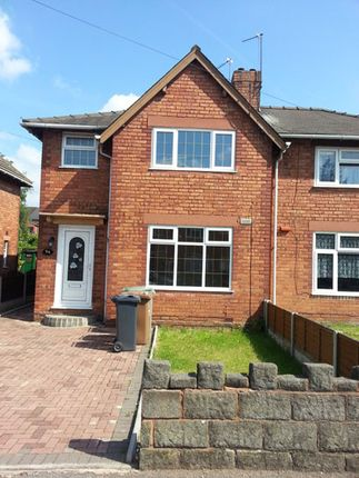 Thumbnail Semi-detached house to rent in Bassett Street, Walsall, West Midlands