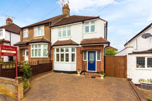 Thumbnail Semi-detached house to rent in Kitsbury Road, Berkhamsted