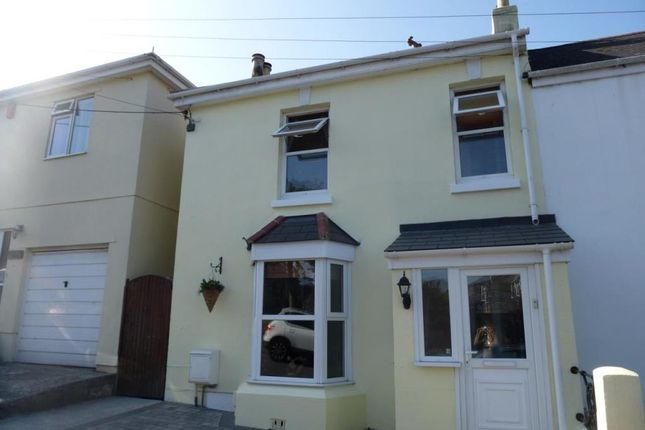 Thumbnail End terrace house to rent in St. Stephens Hill, St. Stephens, Saltash, Cornwall