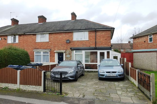 Thumbnail End terrace house for sale in Rawdon Grove, Birmingham