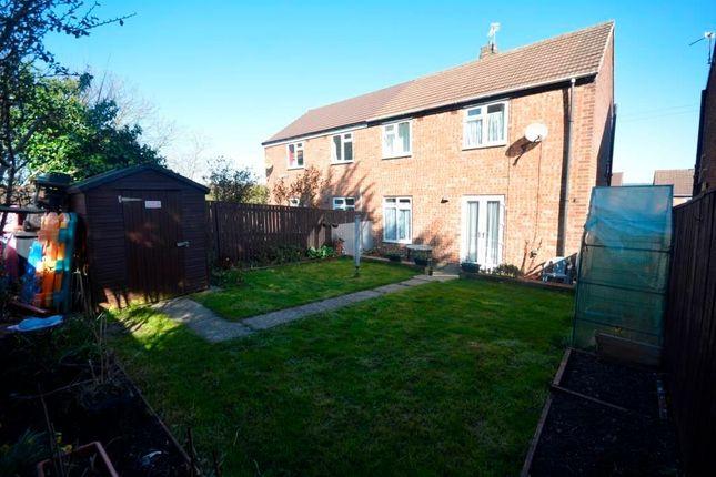 Thumbnail Semi-detached house to rent in Eastside Avenue, Bearpark, Durham