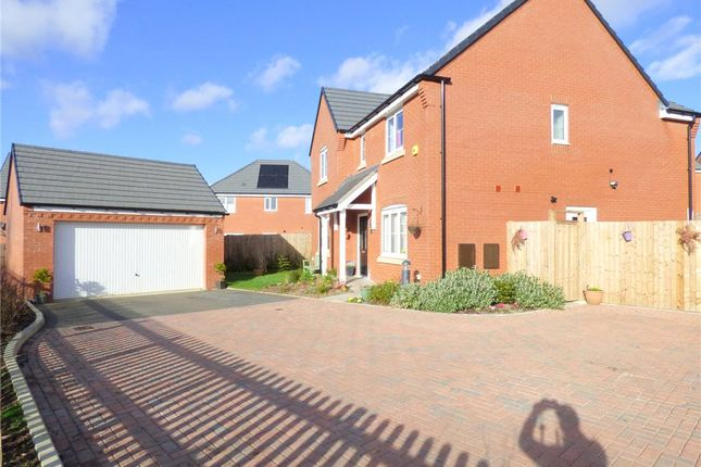Thumbnail Detached house for sale in Sladden Close, Badsey, Evesham