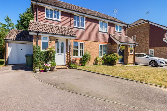 Thumbnail Semi-detached house to rent in Warren Drive, Southwater, Horsham