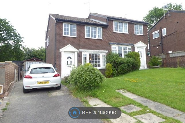 3 bed semi-detached house to rent in Greenfield View, Kippax, Leeds LS25