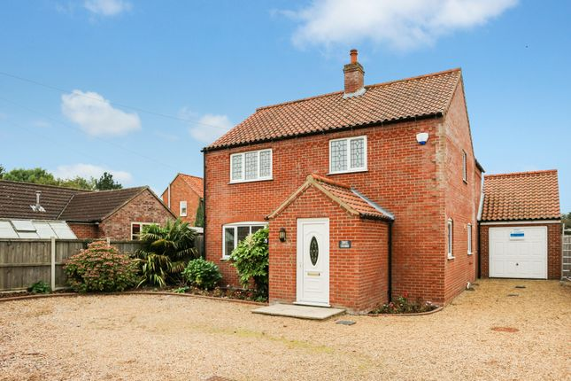 Thumbnail Detached house for sale in Beccles Road, Thurlton, Norwich
