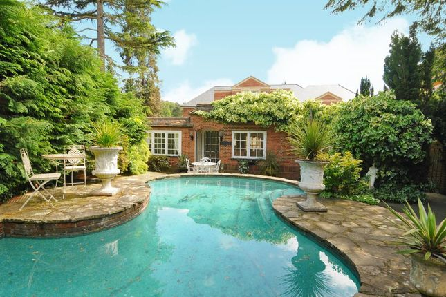 Thumbnail Detached bungalow for sale in St Georges Hill, Weybridge