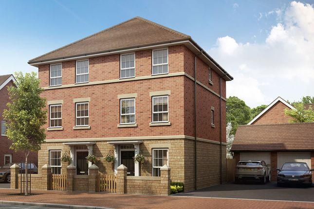"""Thumbnail Semi-detached house for sale in """"Faversham"""" at Melton Road, Edwalton, Nottingham"""