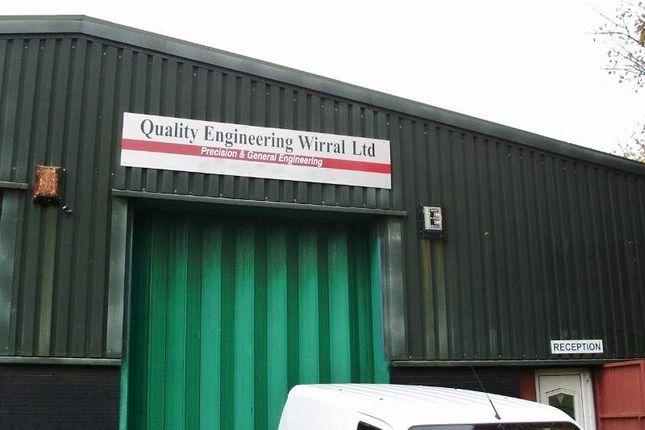 Thumbnail Industrial for sale in Unit 6, 417 Corporation Road, Birkenhead