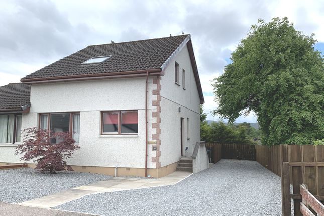 Thumbnail Semi-detached house for sale in Hillside Avenue, Kingussie