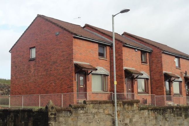 Thumbnail End terrace house for sale in Dalreoch Court, Dumbarton