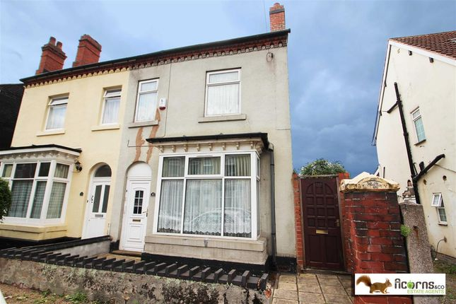 Thumbnail Semi-detached house for sale in Slaney Road, Walsall