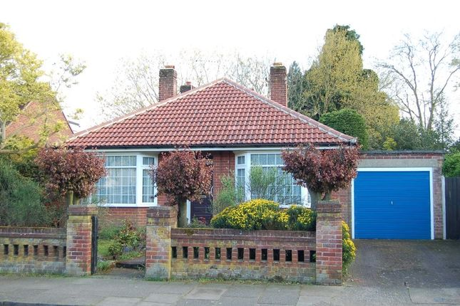 Thumbnail Detached bungalow for sale in Manor Road, Ipswich