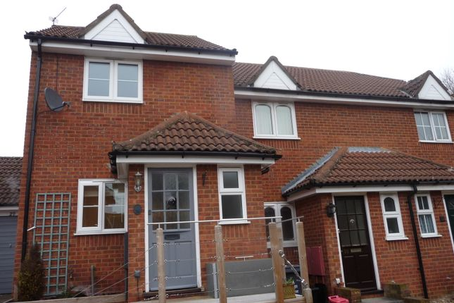 Thumbnail End terrace house to rent in Conifer Walk, Stevenage