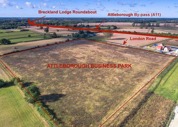 Thumbnail Land for sale in Attleborough Business Park, London Road, Attleborough