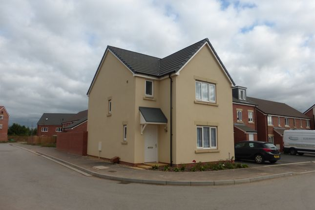 Thumbnail Detached house for sale in Hob Close, Monkton Heathfield, Taunton