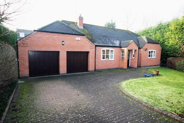 Thumbnail Detached bungalow for sale in Barn Close, Castle Donington, Derby