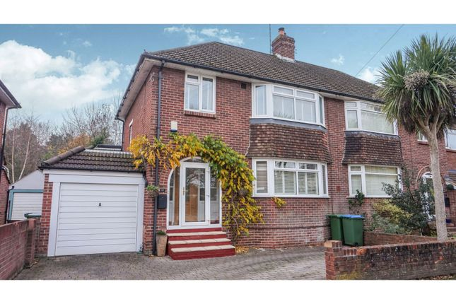 Thumbnail Semi-detached house for sale in Wallington Shore Road, Fareham