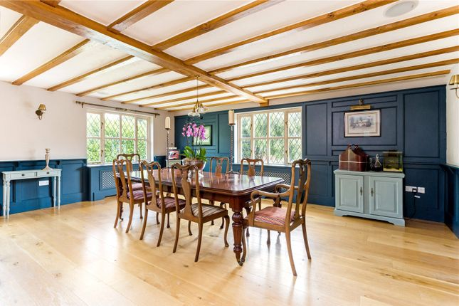 Dining Room of Marks Hall Lane, White Roding, Dunmow, Essex CM6