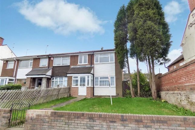Thumbnail End terrace house for sale in New Road, Wrockwardine Wood, Telford, Shropshire