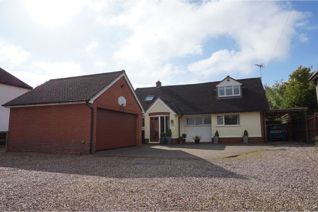 Thumbnail Detached bungalow for sale in Uppingham Road, Houghton On The Hill