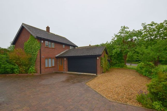 Thumbnail 4 bedroom detached house for sale in The High Street, Two Mile Ash, Milton Keynes