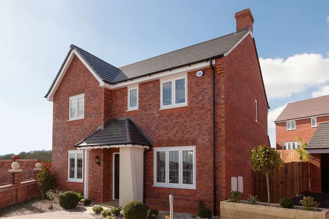"Thumbnail Detached house for sale in ""The Berrington"" at Roman Road, Bobblestock, Hereford"