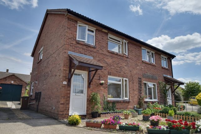 Thumbnail Semi-detached house for sale in Swift Close, Letchworth Garden City, Hertfordshire