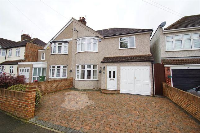 Thumbnail Semi-detached house for sale in Marechal Niel Avenue, Sidcup, Kent