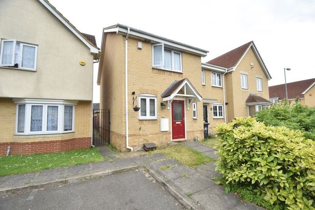 Thumbnail End terrace house for sale in Linden Road, Leagrave, Luton