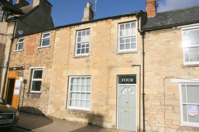 Thumbnail Terraced house to rent in St. Leonards Street, Stamford