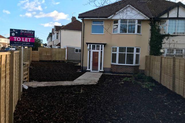 Thumbnail Semi-detached house to rent in Cranham Road, Westbury-On-Trym, Bristol
