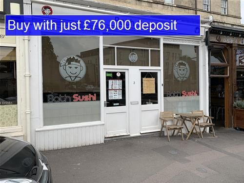 Thumbnail Commercial property for sale in Western, Victoria Bridge Road, Bath
