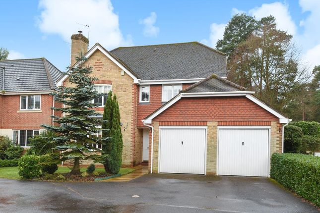 Thumbnail Detached house for sale in Ridgewood Drive, Camberley, Surrey