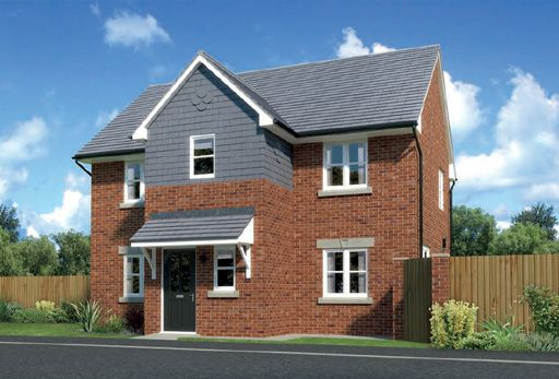 """Thumbnail Detached house for sale in """"Westwood"""" At Arrowe Park Road, Upton, Wirral CH49, Upton, Wirral,"""