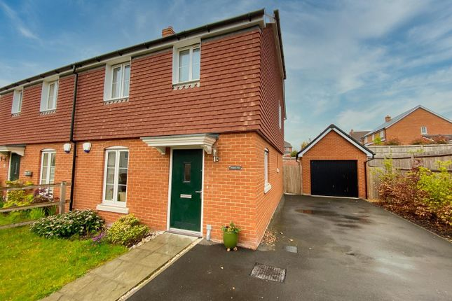 Thumbnail Semi-detached house for sale in Downs Close, Broughton, Stockbridge