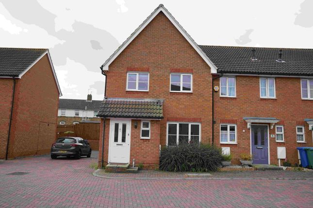 Thumbnail Semi-detached house to rent in Manisty Court, Kemsley, Sittingbourne, Kent