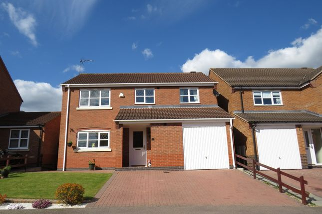 Thumbnail Detached house for sale in Militia Close, Wootton, Northampton